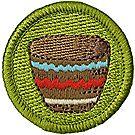 Basketry Merit Badge Emblem