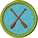 Canoeing Merit Badge Emblem