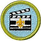 Cinematography Merit Badge Emblem
