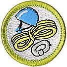 Climbing Merit Badge Emblem