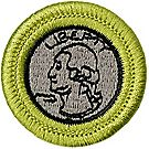 Coin Collecting Merit Badge Emblem
