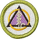 Dentistry Merit Badge Emblem