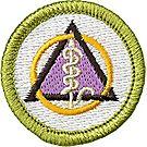 Dentistry Merit Badge Emblem