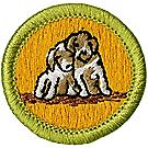 Dog Care Merit Badge Emblem