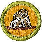 Dog Care Merit Badge Emblem