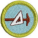 Drafting Merit Badge Emblem