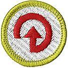 Energy Merit Badge Emblem