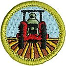 Farm Mechanics Merit Badge Emblem