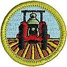 Farm Mechanics Merit Badge Emblem