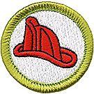 Fire Safety Merit Badge Emblem