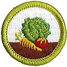Gardening Merit Badge Emblem