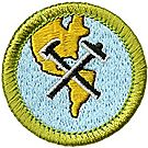 Geology Merit Badge Emblem