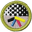 Graphic Arts Merit Badge Emblem