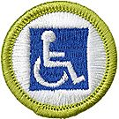 Disabilities Awareness Merit Badge Emblem