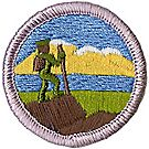 Hiking Merit Badge Emblem