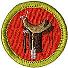 Horsemanship Merit Badge Emblem