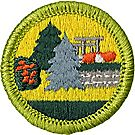 Landscape Architecture Merit Badge Emblem