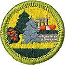Landscape Architecture Merit Badge Emblem