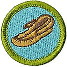 Leatherwork Merit Badge Emblem