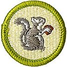 Mammal Study Merit Badge Emblem