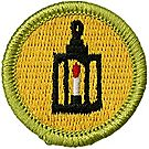 Metalwork Merit Badge Emblem