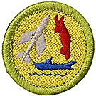 Model Design & Building Merit Badge Emblem