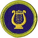 Music Merit Badge Emblem