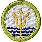 Oceanography Merit Badge Emblem