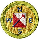 Orienteering Merit Badge Emblem