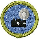 Photography Merit Badge Emblem
