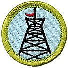Pioneering Merit Badge Emblem
