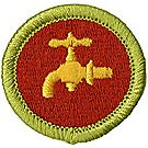 Plumbing Merit Badge Emblem