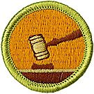 Public Speaking Merit Badge Emblem