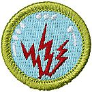 Radio Merit Badge Emblem