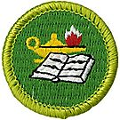 Reading Merit Badge Emblem