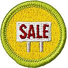 Salesmanship Merit Badge Emblem