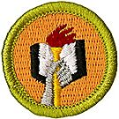 Scholarship Merit Badge Emblem