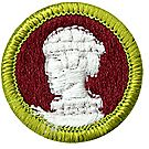 Sculpture Merit Badge Emblem