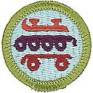 Skating Merit Badge Emblem