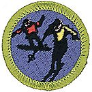 Snow Sports Merit Badge Emblem