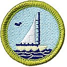 Small Boat Sailing Merit Badge Emblem