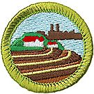Soil & Water Conservation Merit Badge Emblem