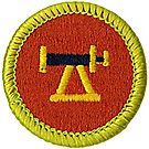 Surveying Merit Badge Emblem