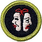 Theater Merit Badge Emblem