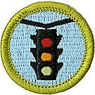 Traffic Safety Merit Badge Emblem