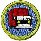 Truck Transportation Merit Badge Emblem