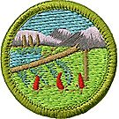 Wilderness Survival Merit Badge Emblem