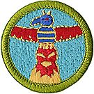 Wood Carving Merit Badge Emblem