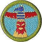 Wood Carving Merit Badge Emblem