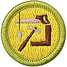 Woodwork Merit Badge Emblem